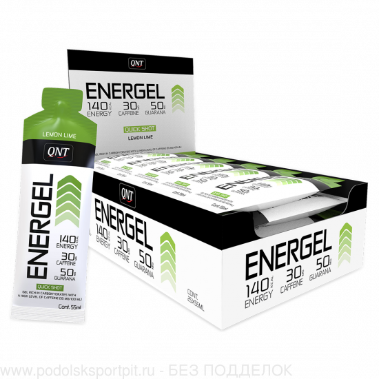 QNT ENERGY GEL, 25 X 55 ML