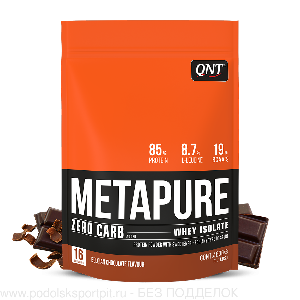 QNT METAPURE WHEY PROTEIN ISOLATE, 480 gr
