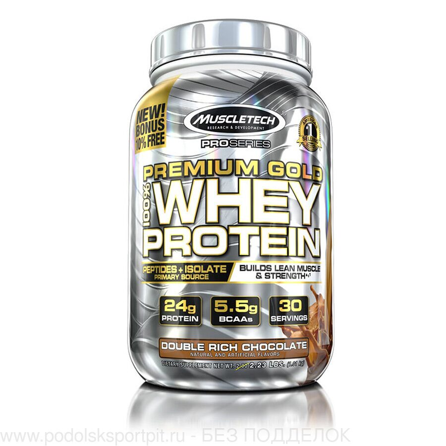 MuscleTech PREMIUM GOLD 100% WHEY PROTEIN, 1010 gr