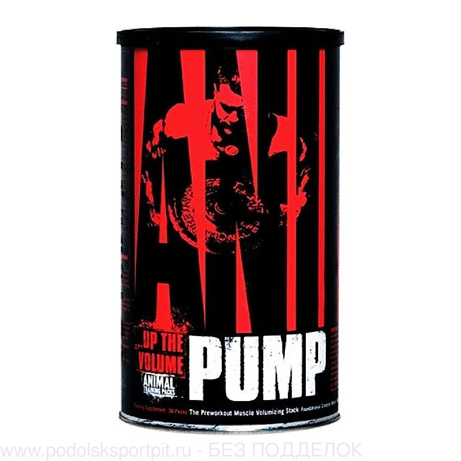 Universal Nutrition ANIMAL PUMP, 30 pack