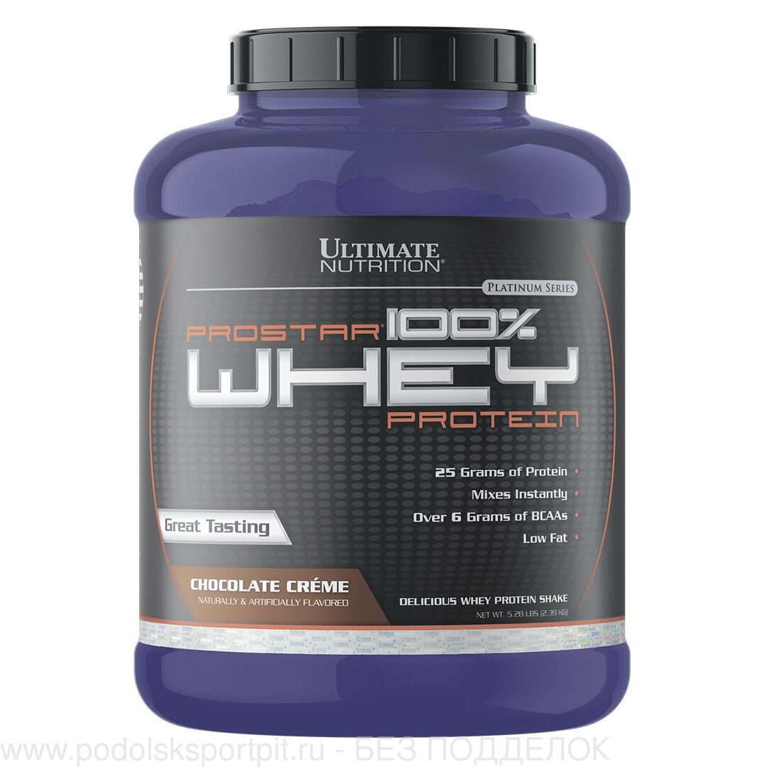 Ultimate Nutrition Prostar Whey, 2390 gr
