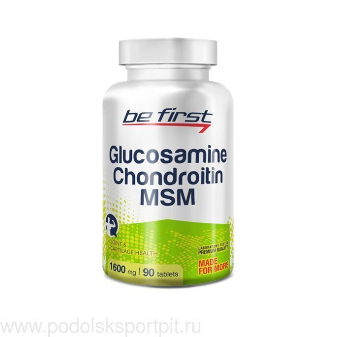 Be First Glucosamine Chondroitin MSM 90 таб