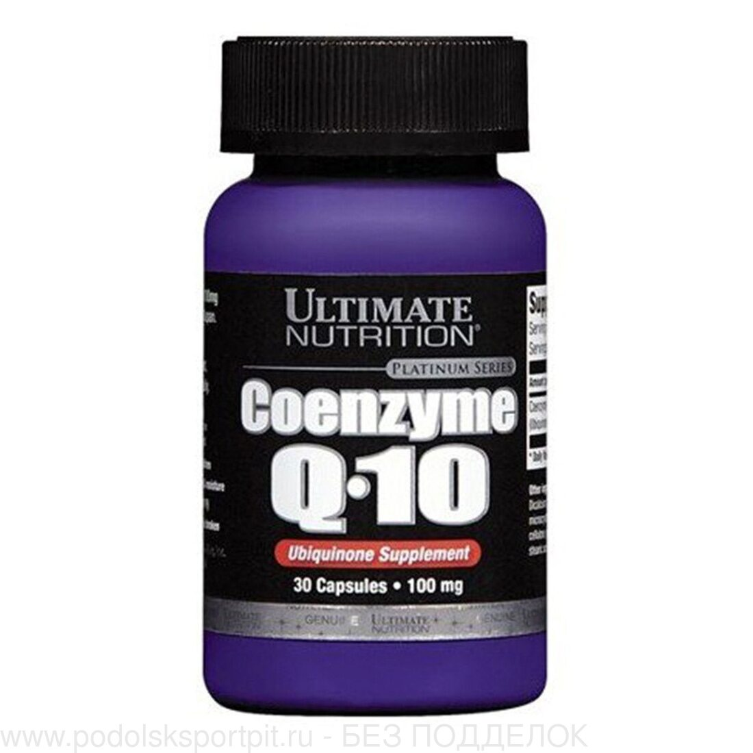 Ultimate Nutrition Coenzyme Q10, 30 caps