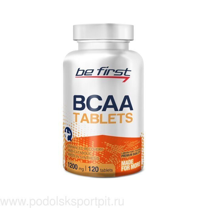 BeFirst BCAA Tablets 120 таб