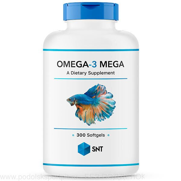 SNT Omega 3 Mega 330/220, 300 softgel
