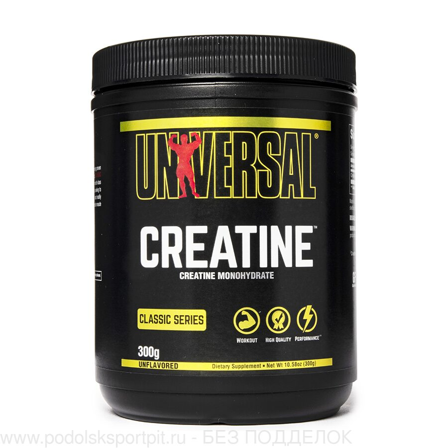 Universal Nutrition Creatine Powder, 300 gr