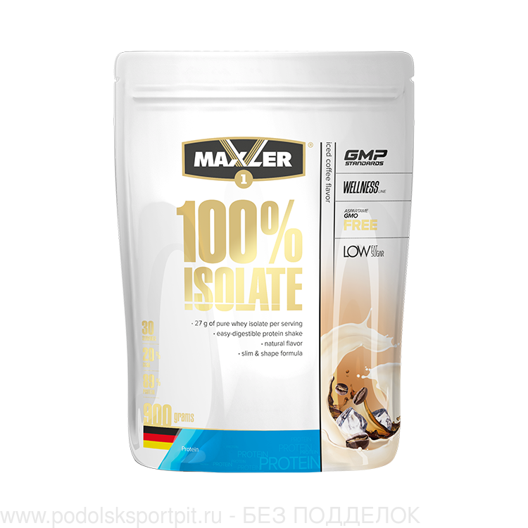 Maxler 100% Isolate пакет 900 gr