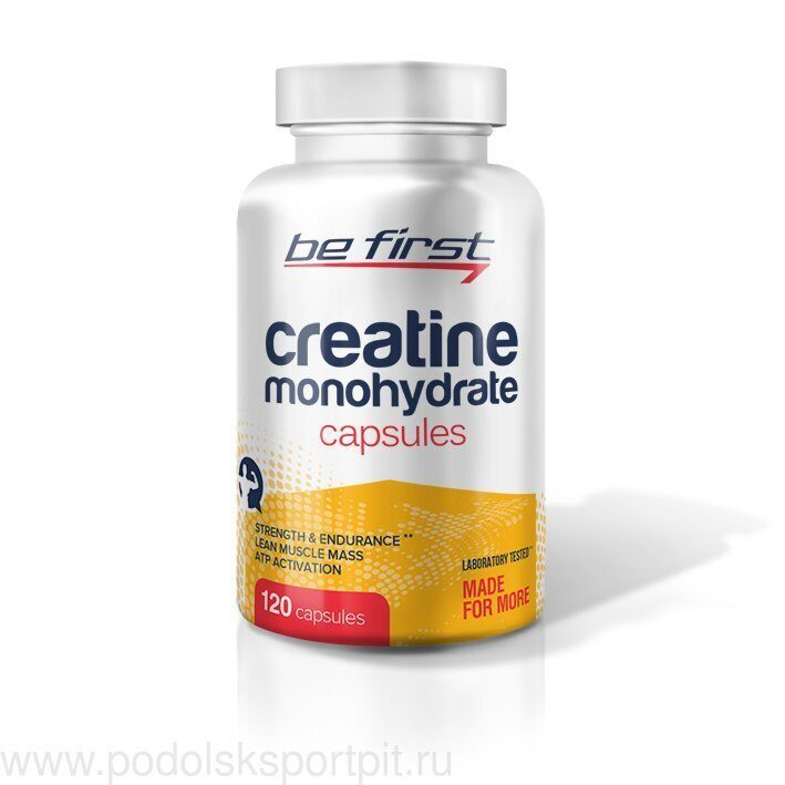 Be First Creatine Monohydrate Capsules 120 капс