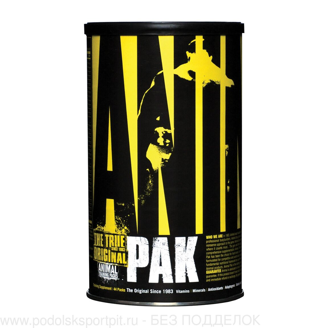 Universal Nutrition Animal Pak, 44 pack, 4 банки