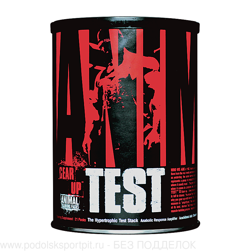Universal Nutrition Animal Test, 21 pack