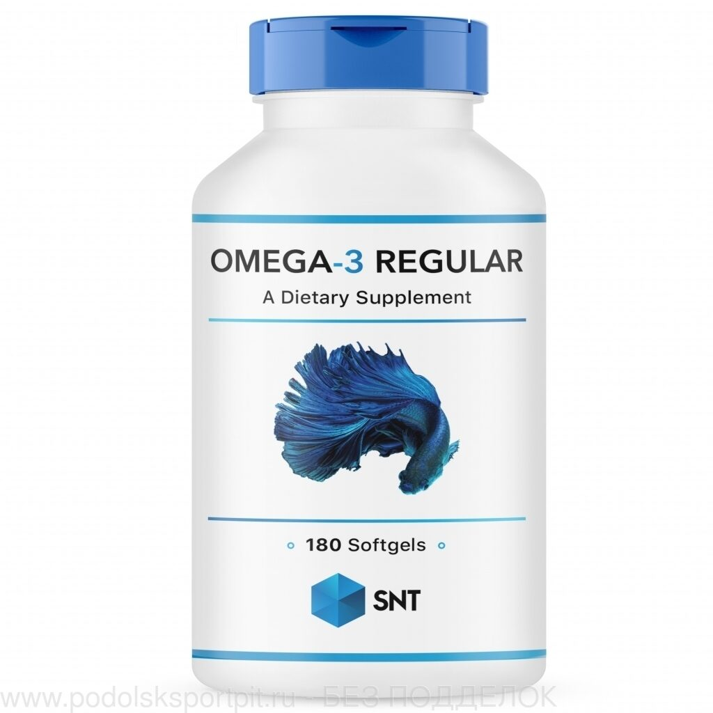 Omega 3 Regular, 180/120, 180 softgels