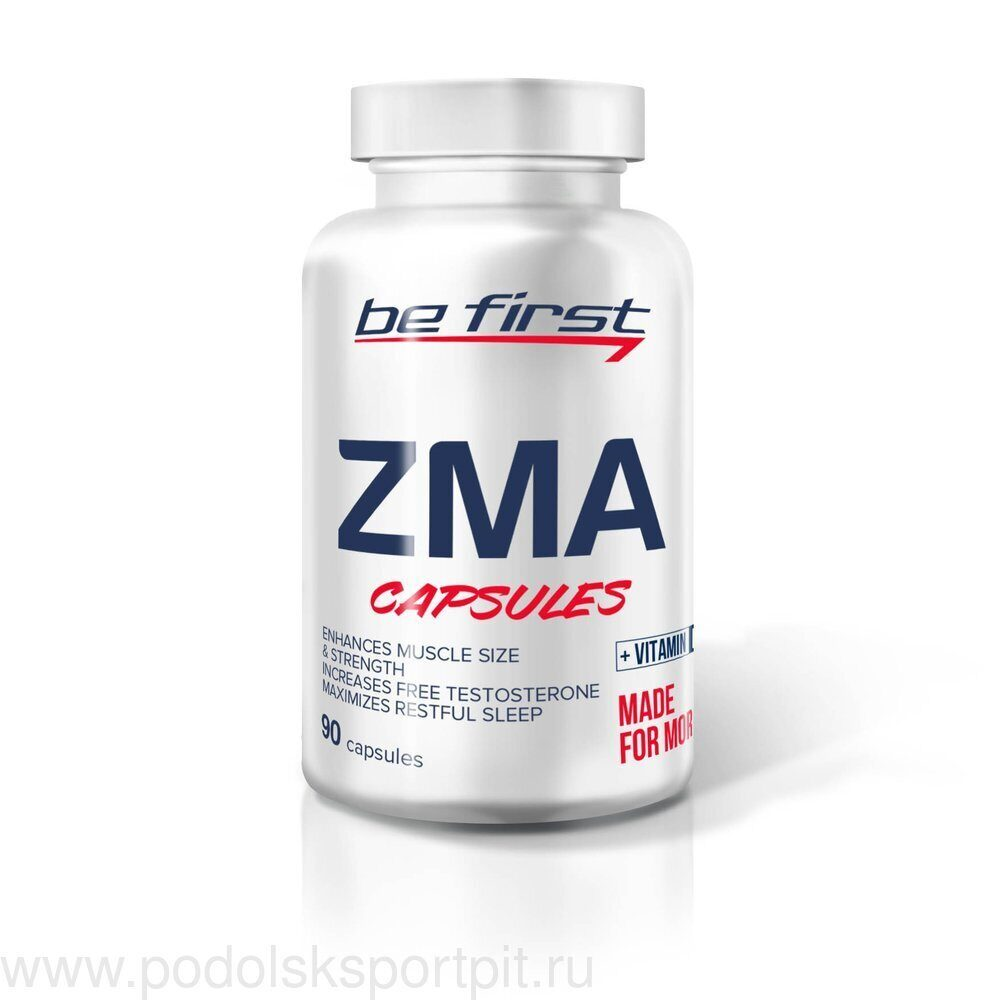 BeFirst ZMA + vitamin D3 90 капс