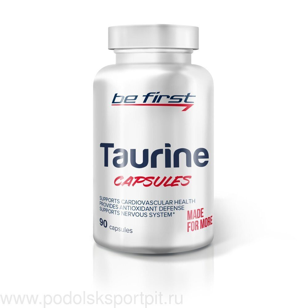 Be First Taurine capsules 90 капс