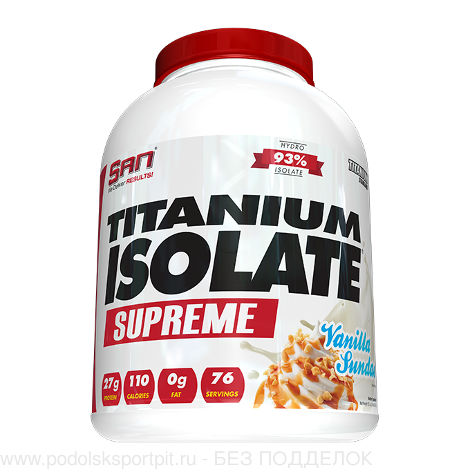 San TITANIUM ISOLATE SUPREME, 2240 gr