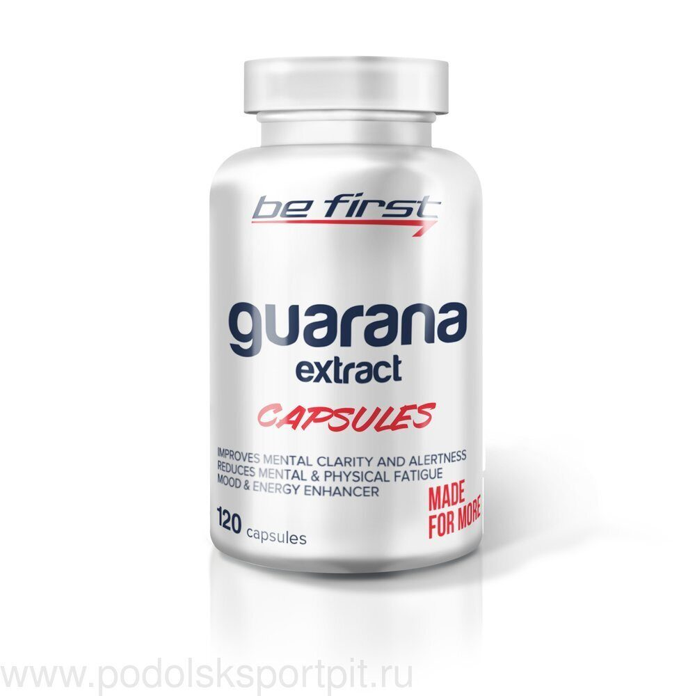 Be First Guarana Extract Capsules 120 капс