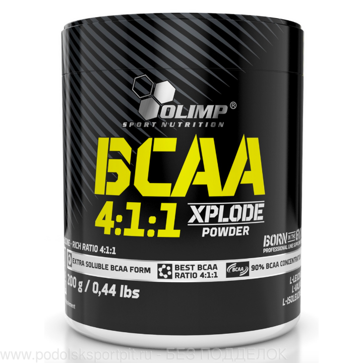 OLIMP BCAA 4 1 1 Xplode Powder, 200 gr