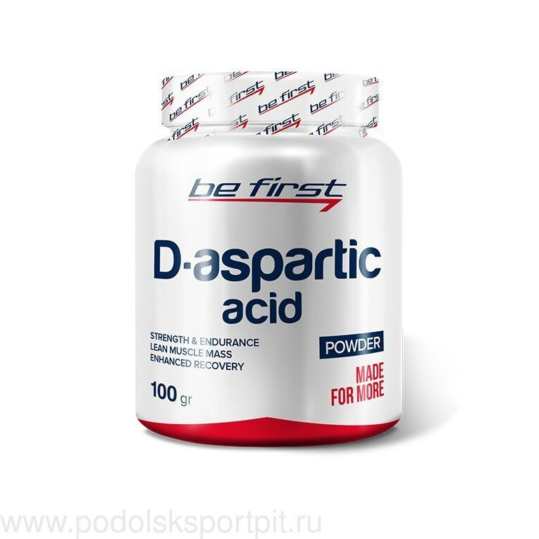 BeFirst D-Aspartic Acid powder 100 гр