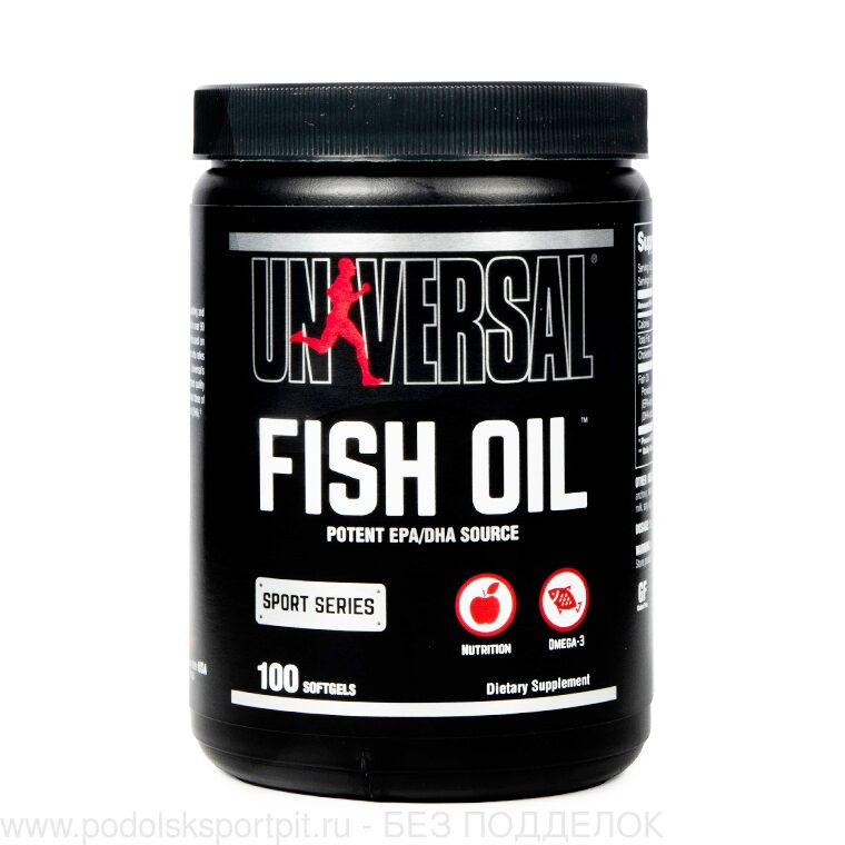 Universal Nutrition Fish Oil - Omega 3 EFAs 100 sofrgels