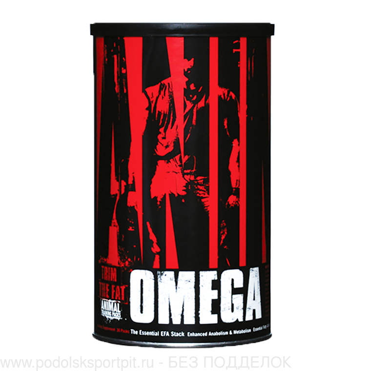 Universal Nutrition Animal Omega, 30 pack, 4 банки