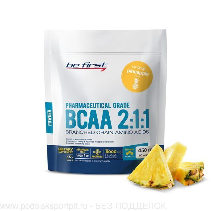 BeFirst BCAA 2:1:1 Powder 450 гр