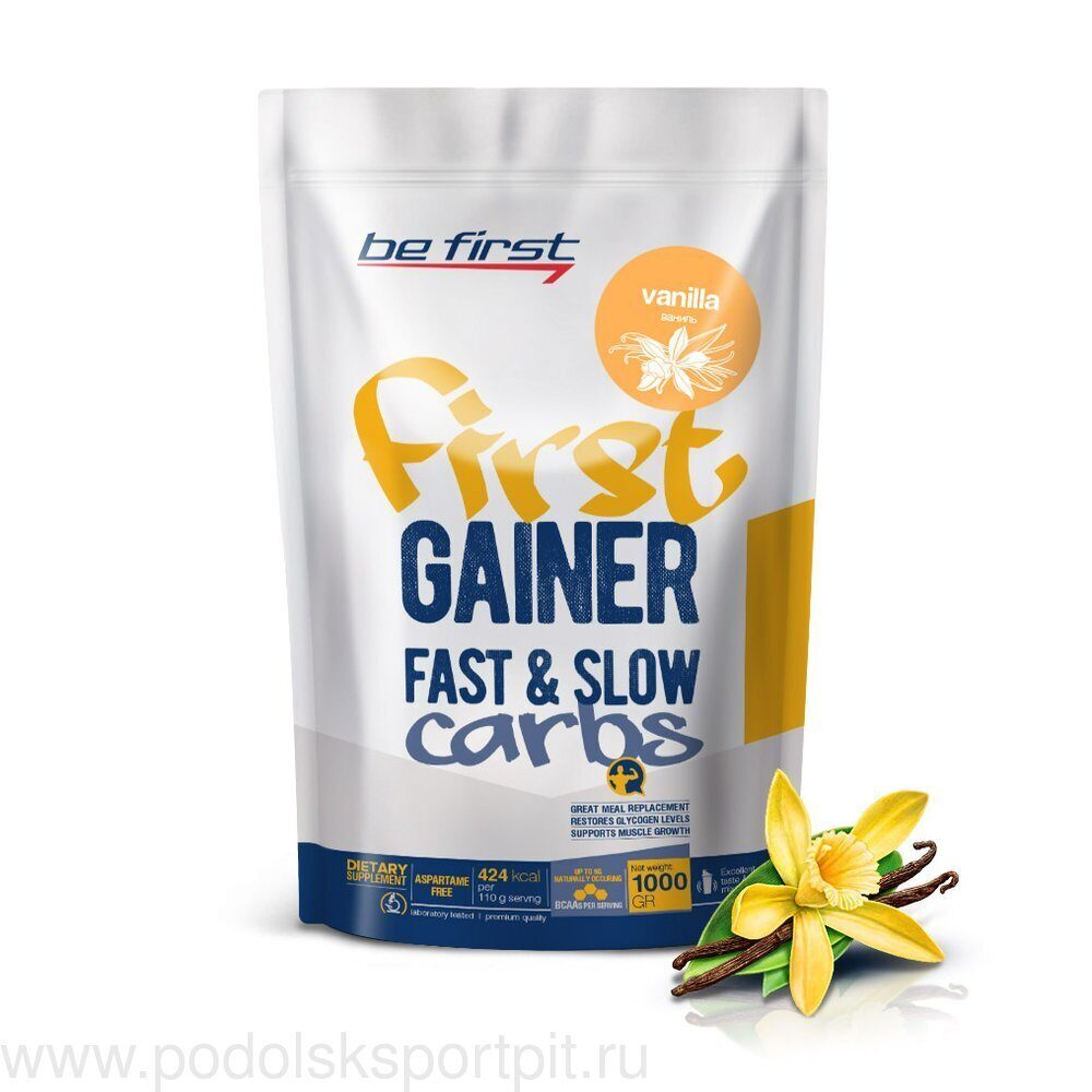 BeFirst First Gainer Fast & Slow Carbs 1000 гр