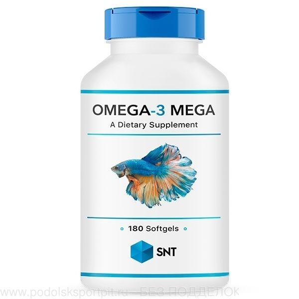 SNT Omega 3 Mega 330/220, 180 softgel