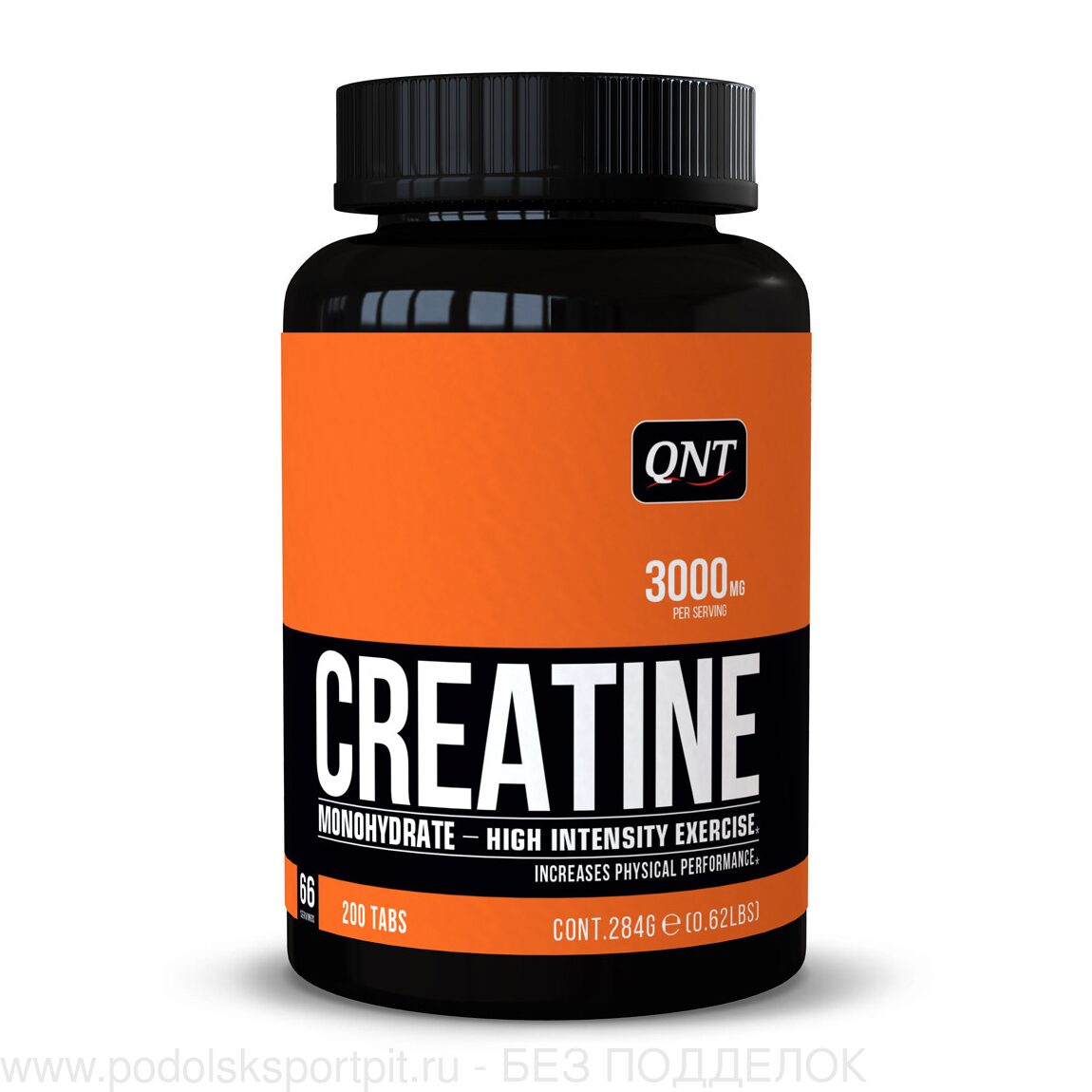 QNT CREATINE MONOHYDRATE, 200 TABS