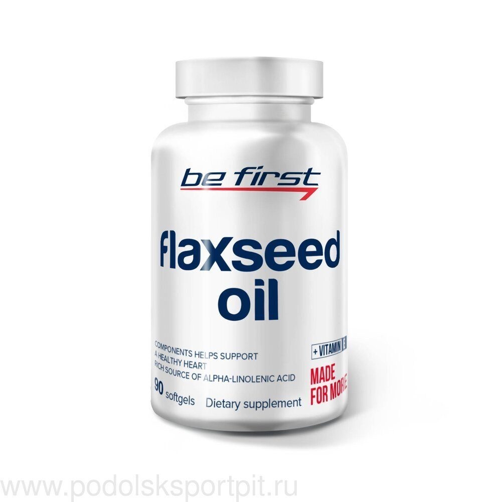 Be First Flaxseed Oil 90 капс
