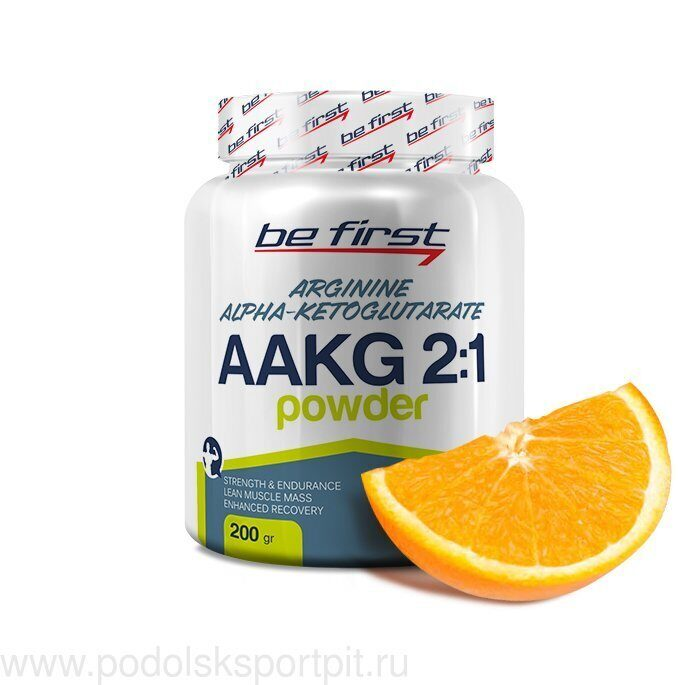 Be First AAKG 2:1 Powder (Arginine AKG) 200 гр