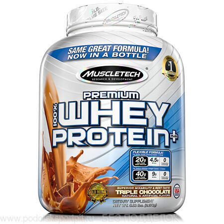 MuscleTech 100% Premium Whey Protein Plus, 2270 gr