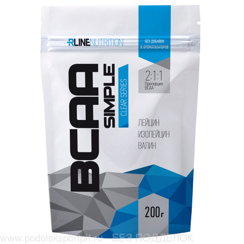 R-Line BCAA Simple, пакет, 200 gr