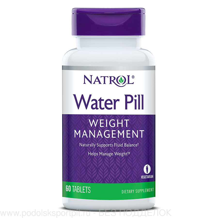 Natrol Water Pill Weight Management,  60 tab