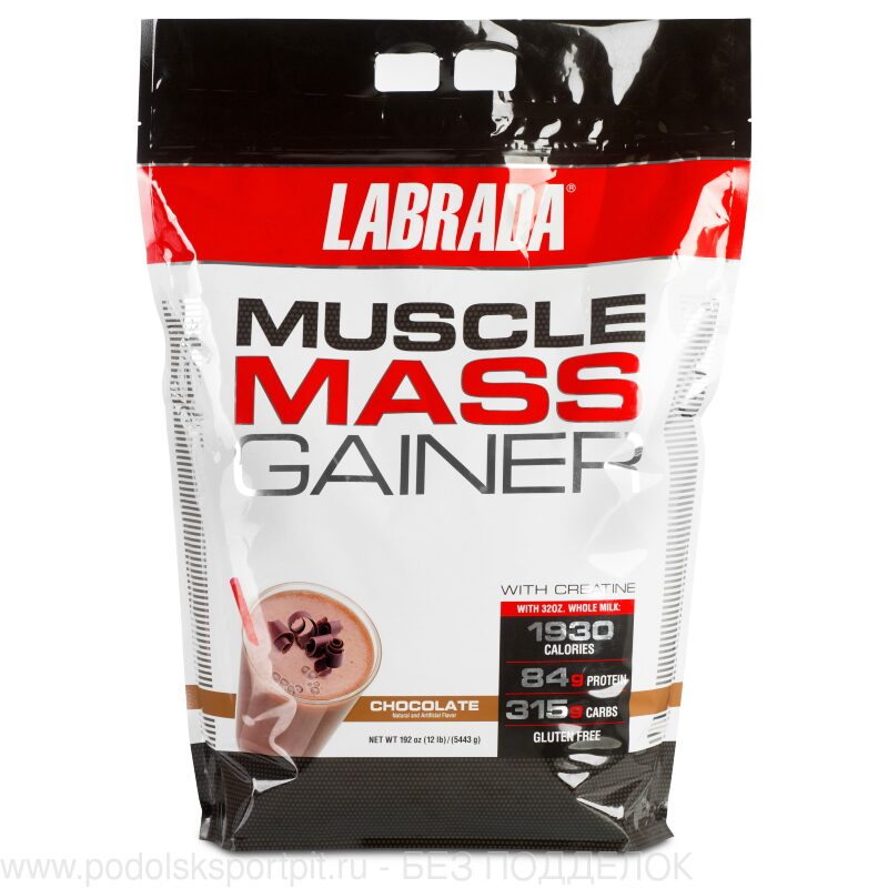 Labrada MUSCLE MASS GAINER 12LB, 5443 gr