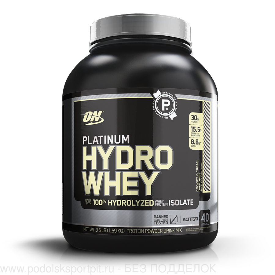 ON Platinum Hydrowhey, 1590 gr