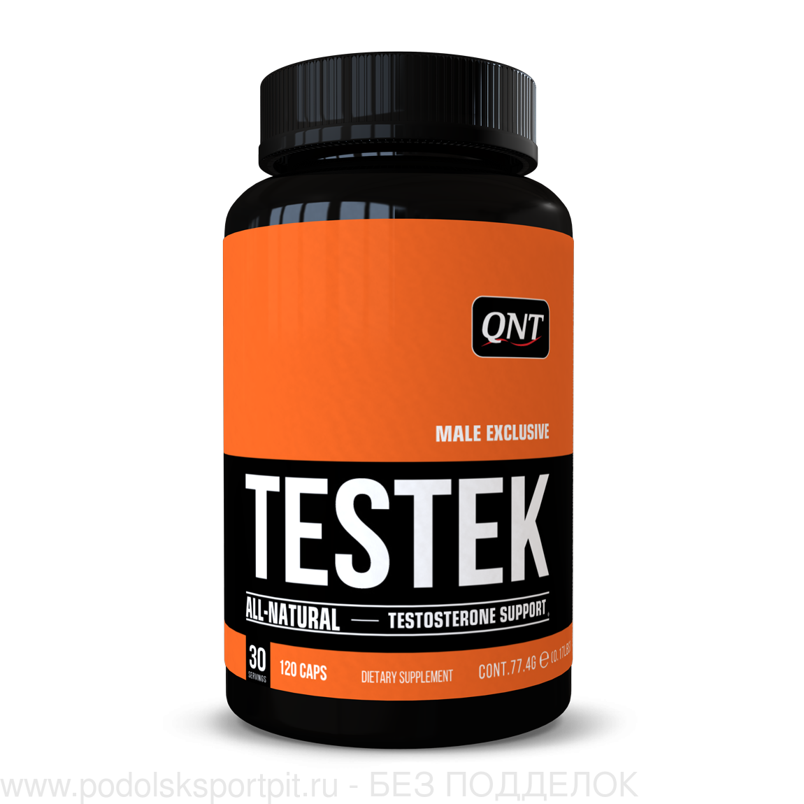 QNT NATURAL TESTOSTERONE BOOSTER, 120 CAPS