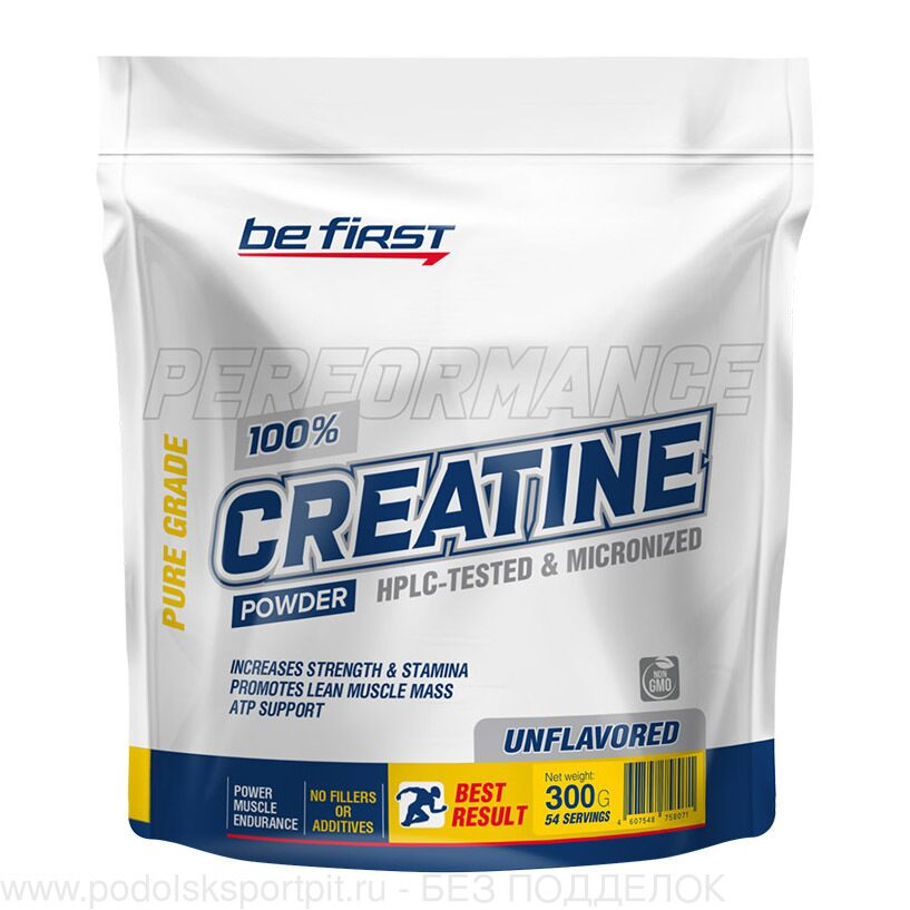 Be First Creatine Monohydrate powder 300 гр