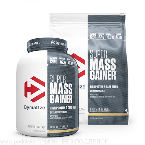 Dymatize SUPER MASS GAINER, 12 lb, 5400 gr