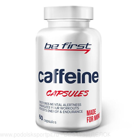Be Firsr Caffeine, 60 кап