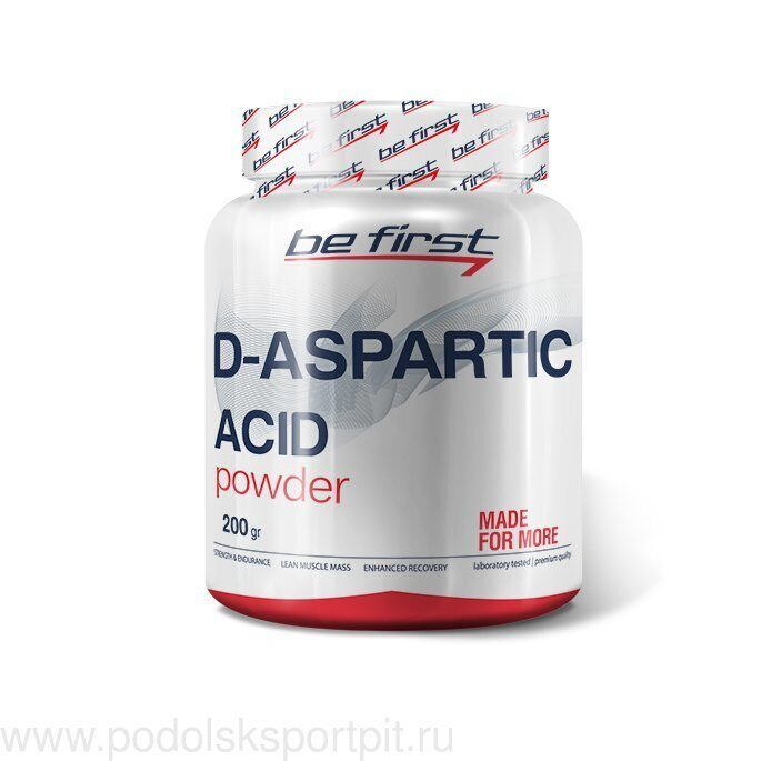 BeFirst D-Aspartic Acid Powder 200 гр